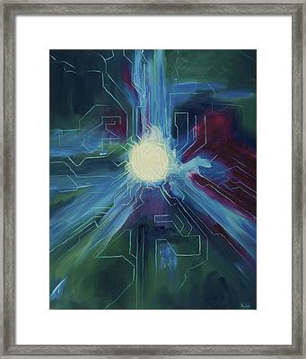 Knowledge Framed Print by Dylan Wheeler