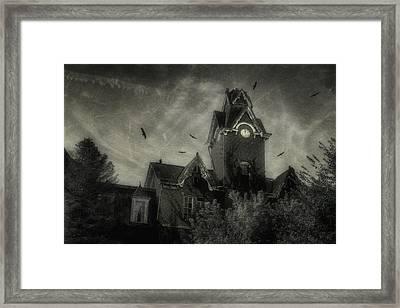 Knox County Poorhouse Framed Print by Tom Mc Nemar