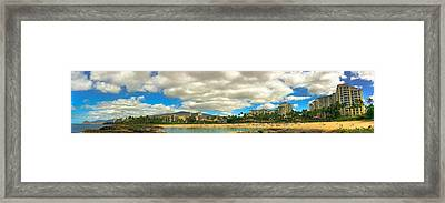 Ko Olina Lagoons Framed Print by Anthony J Wright