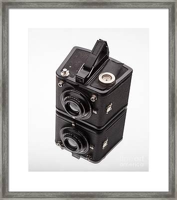 Kodak Brownie Film Camera Mirror Image Framed Print by Edward Fielding