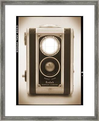Kodak Duaflex Camera Framed Print by Mike McGlothlen