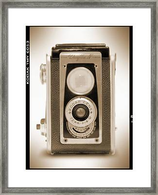 Kodak Duaflex Iv Camera Framed Print by Mike McGlothlen