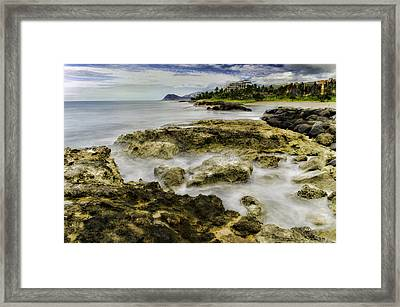 Kohola Lagoon Framed Print by Rod Sterling
