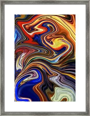 Koi Pond Framed Print by Chris Butler