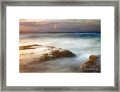 Koloa Storm Dawning Framed Print by Mike  Dawson