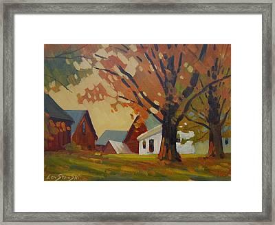 Kordana Place Framed Print by Len Stomski