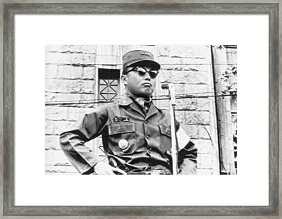Korean Military Junta Ruler Framed Print by Underwood Archives