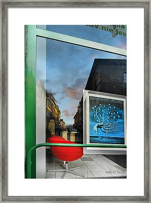 Krakow Reflections Framed Print by Robert Lacy