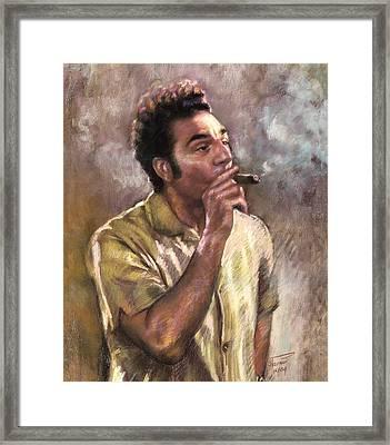 Kramer Framed Print by Ylli Haruni
