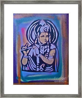 Krishna 2 Framed Print by Tony B Conscious
