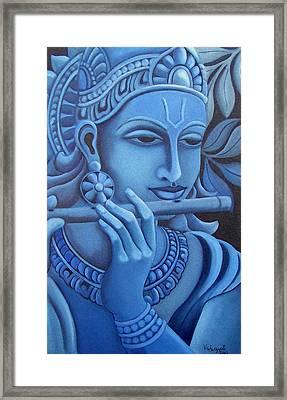 Krishna Framed Print by Vishwajyoti Mohrhoff