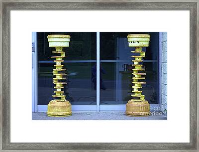 Kriss And Kross Framed Print by The Stone Age