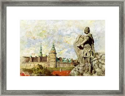 Kronborg Castle Framed Print by Catf