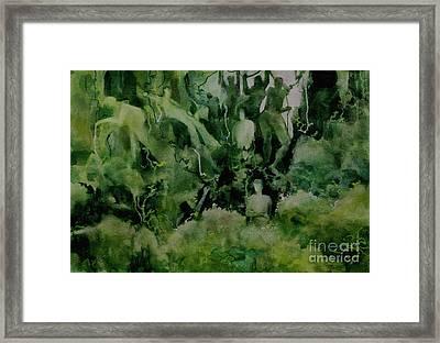 Kudzombies Framed Print by Elizabeth Carr
