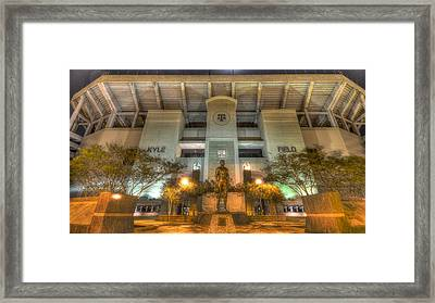 Kyle Field Framed Print by David Morefield