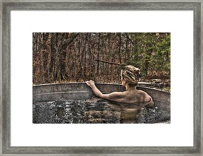 La Baigneuse Framed Print by William Fields