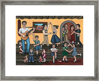 La Bamba Framed Print by Victoria De Almeida