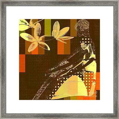 La Bella - 133 Framed Print by Variance Collections