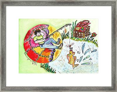 La Belle Vie / The Good Life Framed Print by Dominique Fortier