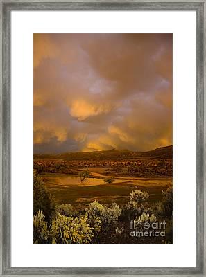 La Boca Rain Framed Print by Jerry McElroy