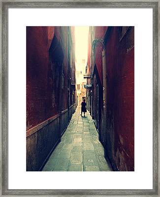 La Cameriera  Framed Print by Micki Findlay