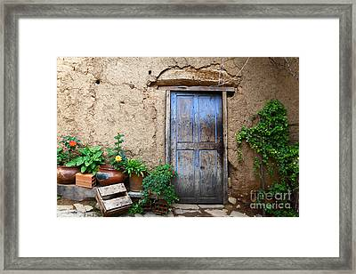 La Casa Vieja 1 Framed Print by James Brunker
