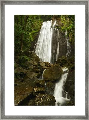 La Coca Falls  Framed Print by Photography  By Sai