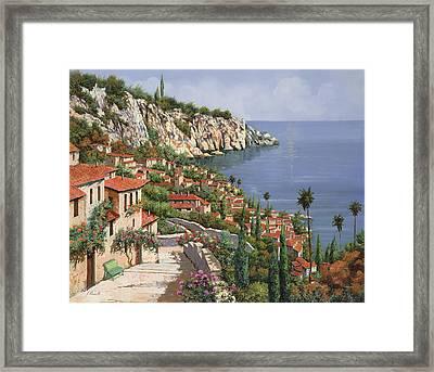 La Costa Framed Print by Guido Borelli