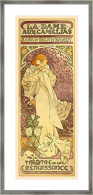 La Dame Framed Print by Gary Grayson