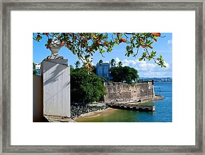 La Fortaleza Framed Print by Ricardo J Ruiz de Porras