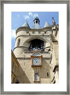 La Grosse Cloche Framed Print by Bishopston Fine Art