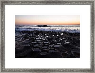 La Jolla Surf Session Framed Print by John Daly
