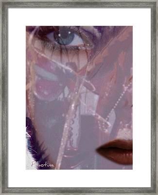 La Libellule Framed Print by Pikotine Art