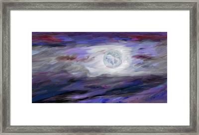 La Luna Framed Print by Jeanne Fischer