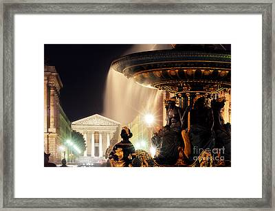 La Madeleine Paris Framed Print by Colin Woods