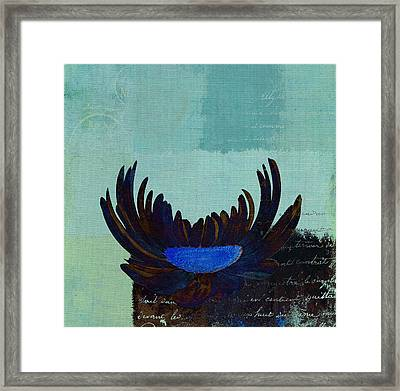 La Marguerite - 140182085-c2bt1a Framed Print by Variance Collections