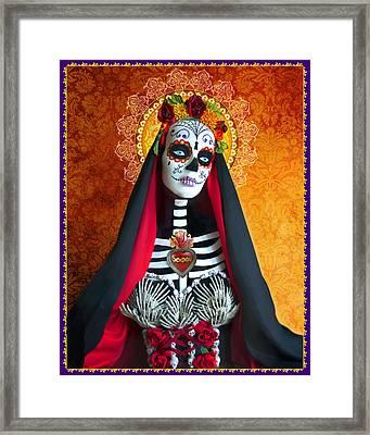 La Muerte Framed Print by Tammy Wetzel