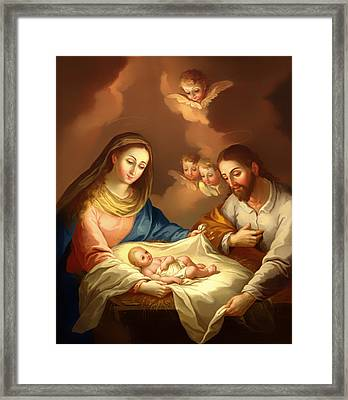 La Natividad  Framed Print by Mountain Dreams