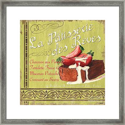 La Patisserie Des Reves 2 Framed Print by Debbie DeWitt