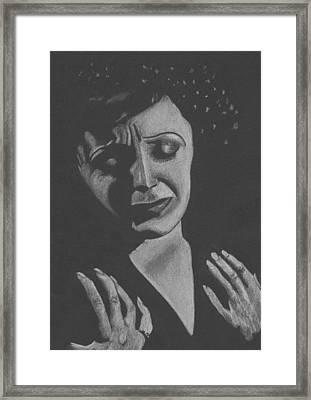 La Piaf Framed Print by Inga Klein
