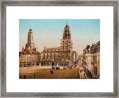 La Place D'armes Framed Print by John K Woodruff