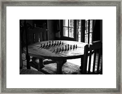 La Posada Game Room Framed Print by John Nelson