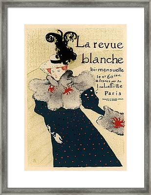La Revue Blanche Framed Print by Gianfranco Weiss