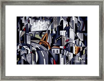 La Rive Gauche Framed Print by Catherine Abel