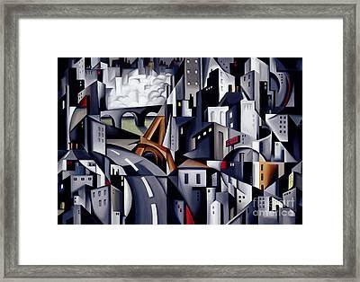 La Rive Gauche Framed Print by Catherine Abel