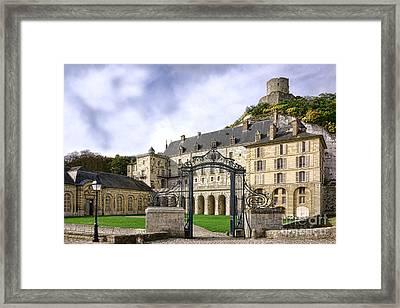 La Roche Guyon Castle Framed Print by Olivier Le Queinec