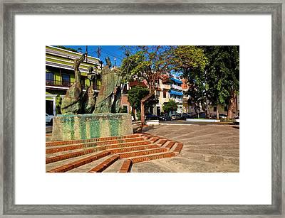 La Rogativa 4 Framed Print by Ricardo J Ruiz de Porras
