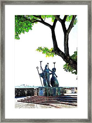 La Rogativa 5 Framed Print by Ricardo J Ruiz de Porras