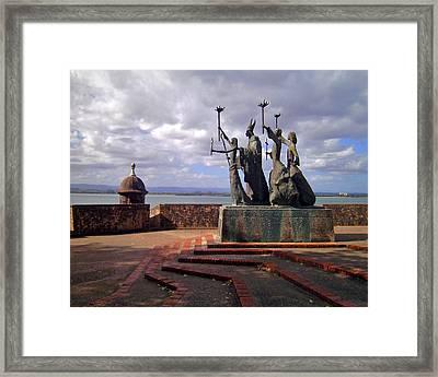 La Rogativa Framed Print by Adam Johnson
