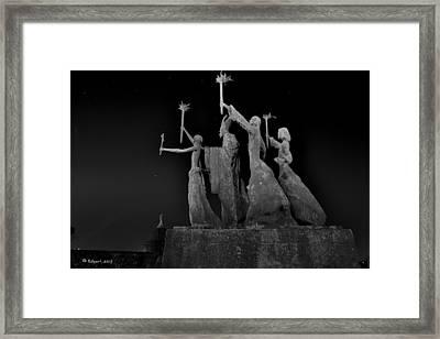 La Rogativa Framed Print by Edgar Torres